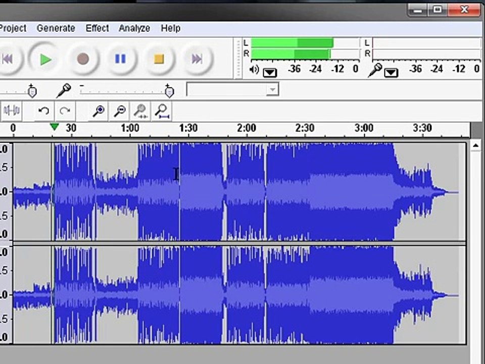Audacity - Minus One/Remove Vocals of a song