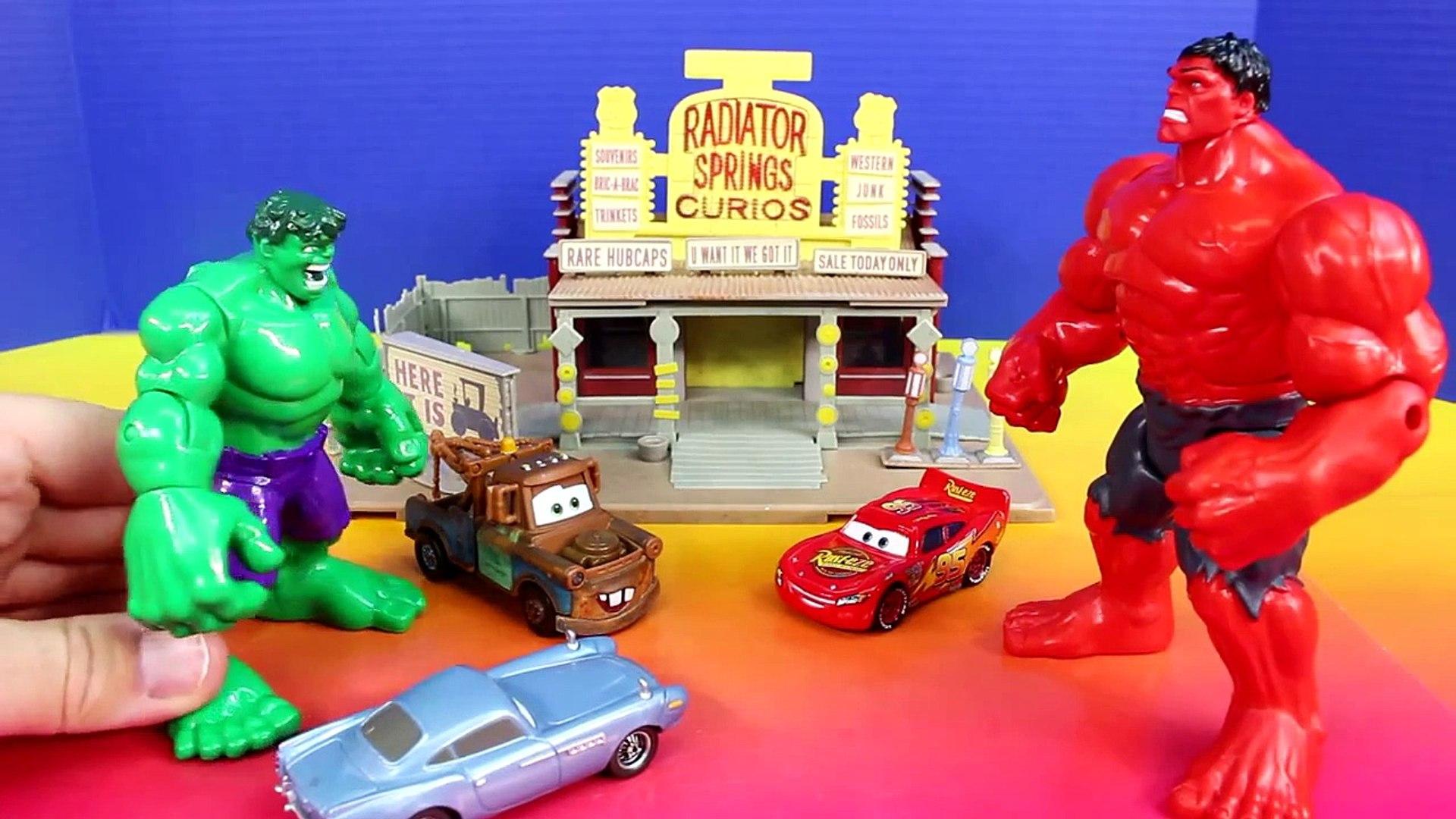 Hulk Smash Brothers 2 Battle Imaginext Solomon Grundy Brothers Save Disney Pixar Cars McQu