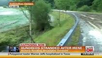 Huracán Irene: Inundaciones en Nueva York y Nueva Jersey EEUU (29/8/11) HD