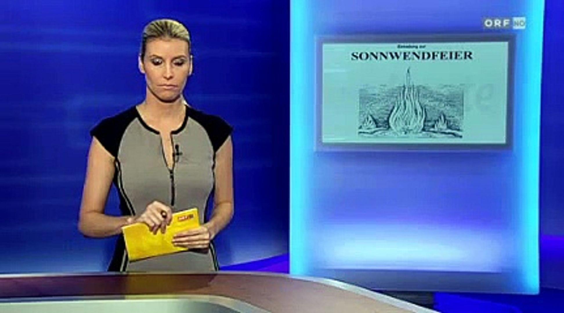 Barbara Rosenkranz (FPÖ) - Einladung mit Bild aus Nazibuch? - Niederösterreich heute 1.6.2011