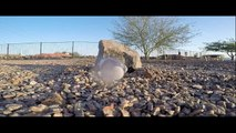 "Water Bottle Vs. Rock In Slow-Motion ""The GoPro Slow-Motion Series"""