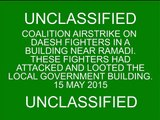 2. Coalition airstrike on Daesh fighters in a building near Ramadi, May 15, 2015