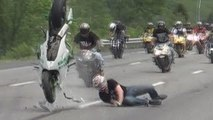 Motorcycle CRASH Compilation Video 2014 Stunt Bike CRASHES Motorbike ACCIDENT Stunts FAIL GONE BAD