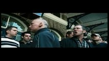 Green street hooligans fight against manchester