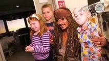 Johnny Depp : Quand Jack Sparrow rend visite à un hôpital d'enfants malades