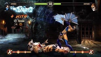 Mortal Kombat 2011 The Babalities Goro Kintaro Shao Kahn