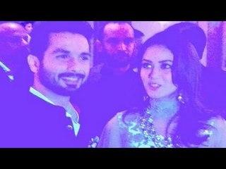 Shahid Kapoor's WEDDING RECEPTION
