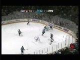 Paul Bissonnette's Goal upsets Sharks Coach Todd McLellan