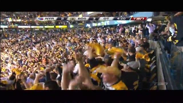 Brad Marchand (1) Overtime Game Winner. New York Rangers 2 Boston Bruins 3. May 16th 2013
