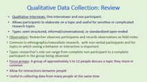 Social Work 242 2014: Qualitative Methods and Research Proposal Development