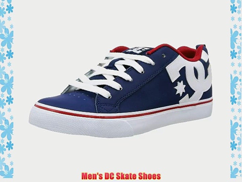 DC Shoes Men's Court Vulk Shoe Navy/Red Lace Up D0303181 7 UK 8 US