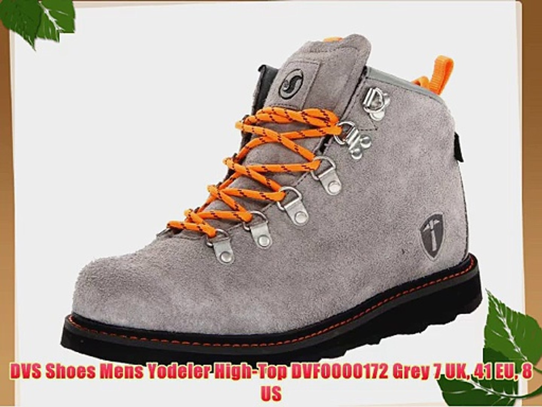 580b2653765 DVS Shoes Mens Yodeler High-Top DVF0000172 Grey 7 UK 41 EU 8 US