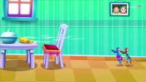Hickory Dickory Dock - 3D Animation - English Nursery Rhymes - Nursery Rhymes - Kids Rhymes - for children with Lyrics