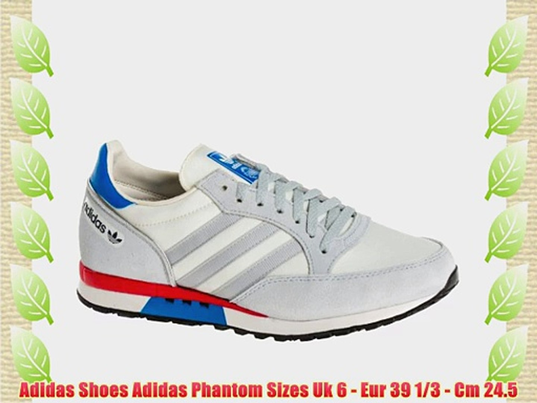 Facturable usuario ANTES DE CRISTO.  Adidas Shoes Adidas Phantom Sizes Uk 6 - Eur 39 1/3 - Cm 24.5 - video  dailymotion