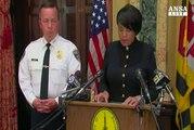 Baltimora, sindaco licenzia capo Polizia