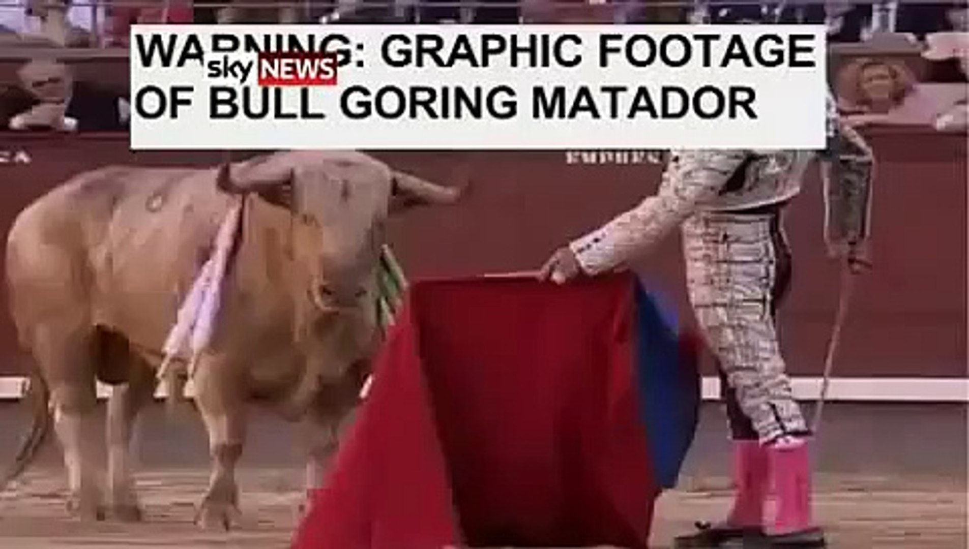 Gored By Bull Through Mouth