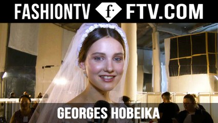 Georges Hobeika After Show | Paris Haute Couture Fall/Winter 2015/16 | FashionT