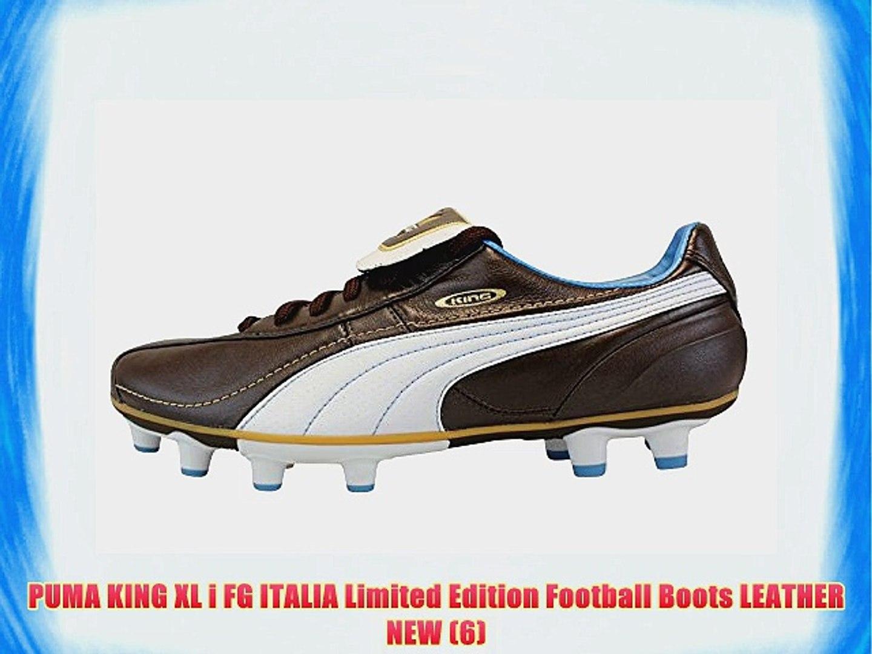 fb9b451550cb9 PUMA KING XL i FG ITALIA Limited Edition Football Boots LEATHER NEW (6)