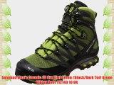 Salomon Men's Cosmic 4D Gtx Kiwi Green /Black/Dark Turf Green Hiking Boot 112149 10 UK