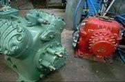 Bitzer V4 Semi-Hermetic Compressor Motor End Disassembly Pt1