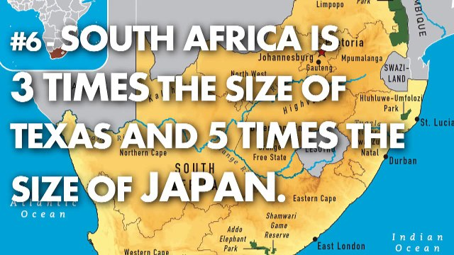 True Facts About South Africa - 10 Facts You Don't Know!