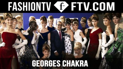 Georges Chakra After-Show | Paris Haute Couture Fall/Winter 2015/16 | FashionTV