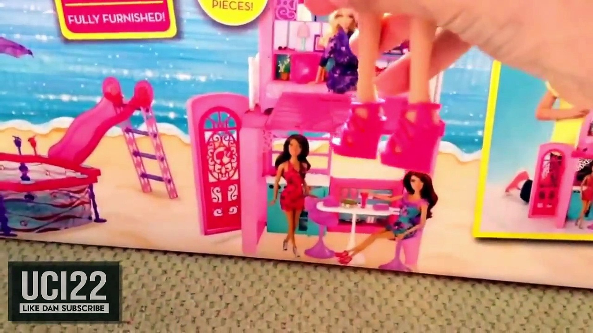 Mainan Rumah Rumahan Barbie Rumah Barbie Tingkat Rumah Mainan Barbie Video Dailymotion