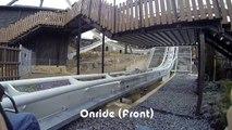 Heide Park - Flug der Dämonen (Wing Coaster) - Onride & Offride 2014 - Front / Rear [POV]