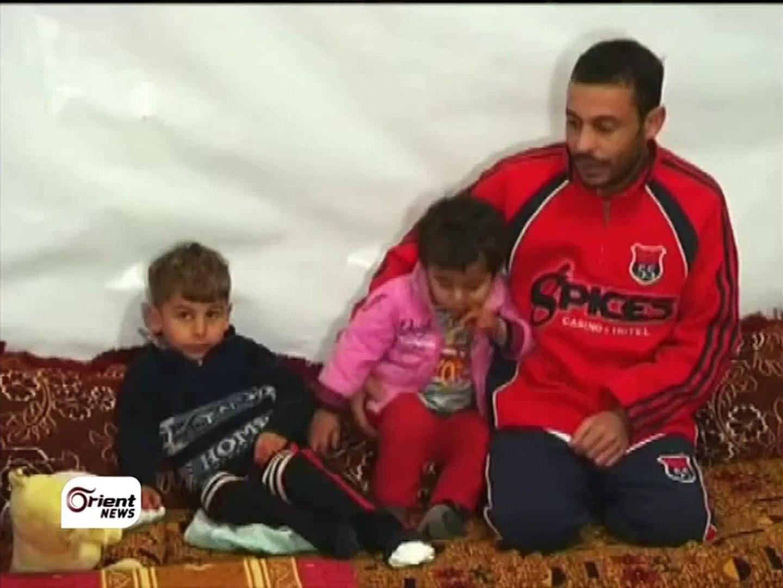 العاصفة الثلجية  وفاة ثلاثة أطفال في مخيم عرسال