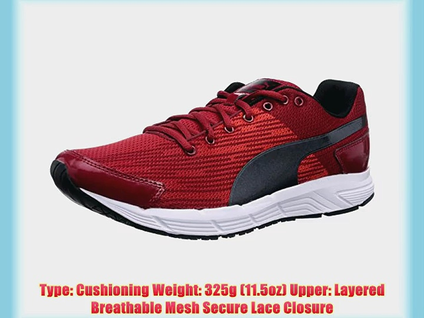 Puma Sequence Men's Running Shoes Red/Black 10 UK