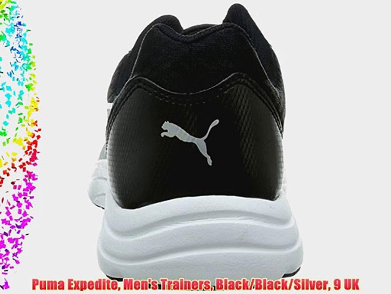 Puma Expedite Men's Trainers BlackBlackSilver 9 UK