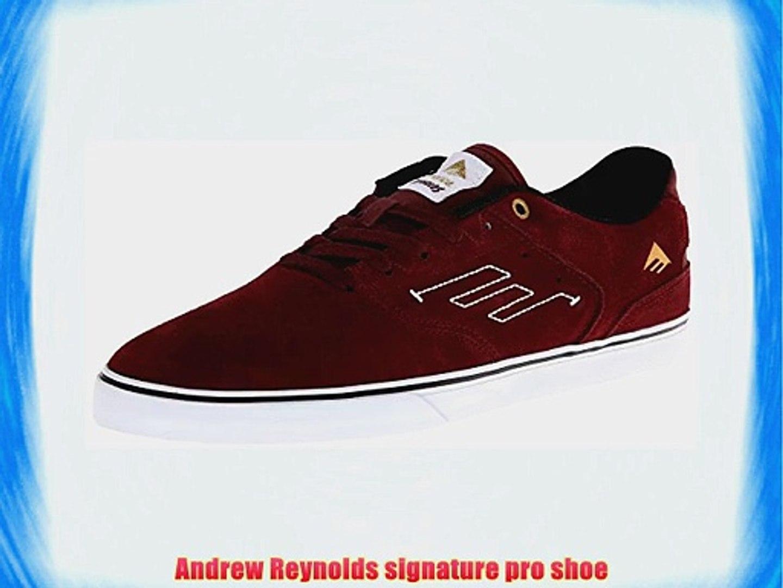 Emerica The Reynolds Low Vulc Mens Skateboarding Shoes Red (Burgundy/White) 10 UK (45 EU)