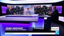 """Crise grecque : """"La Grèce doit payer le prix"""" de ses excès"""