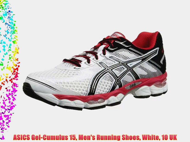 Pensativo No quiero Universidad  ASICS Gel-Cumulus 15 Men's Running Shoes White 10 UK - video Dailymotion