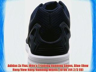 Adidas Zx Flux Men's Training Running Shoes Blue (New NavyNew NavyRunning White) 10 UK (44