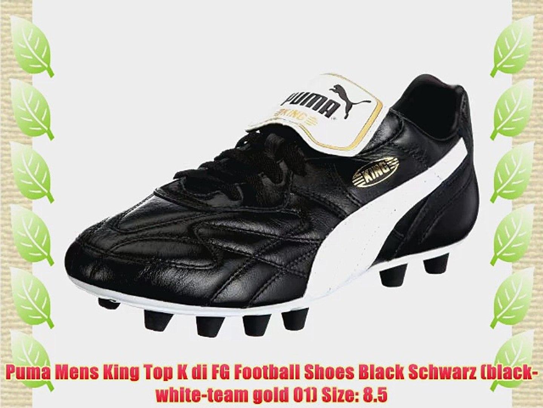 Puma Mens King Top K di FG Football Shoes Black Schwarz
