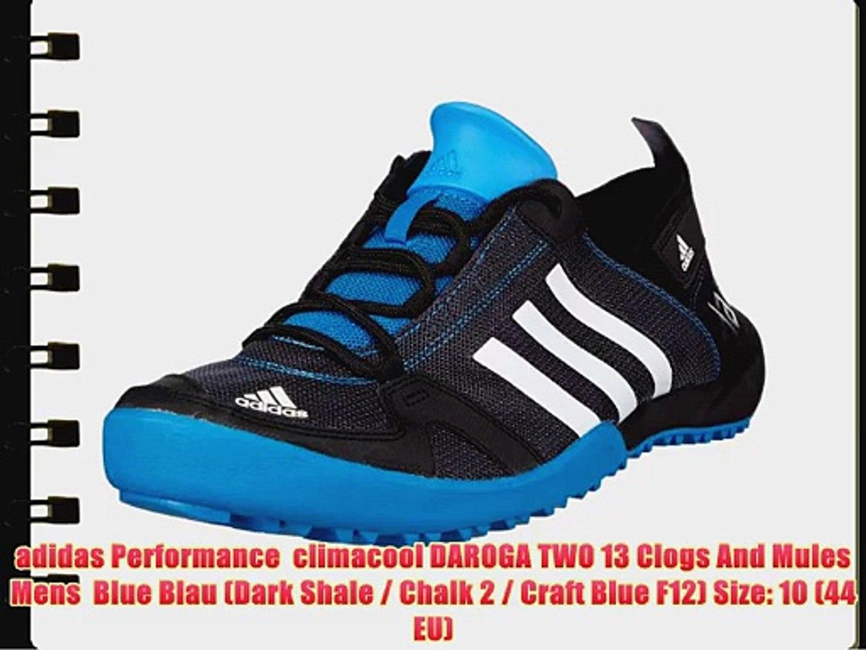 quality design 7ad91 b13dd adidas Performance climacool DAROGA TWO 13 Clogs And Mules Mens Blue Blau  (Dark Shale / Chalk
