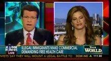 Illegal Aliens Make Commercial Demanding Free Health Care   Obamacare   Wake Up America  Cavuto
