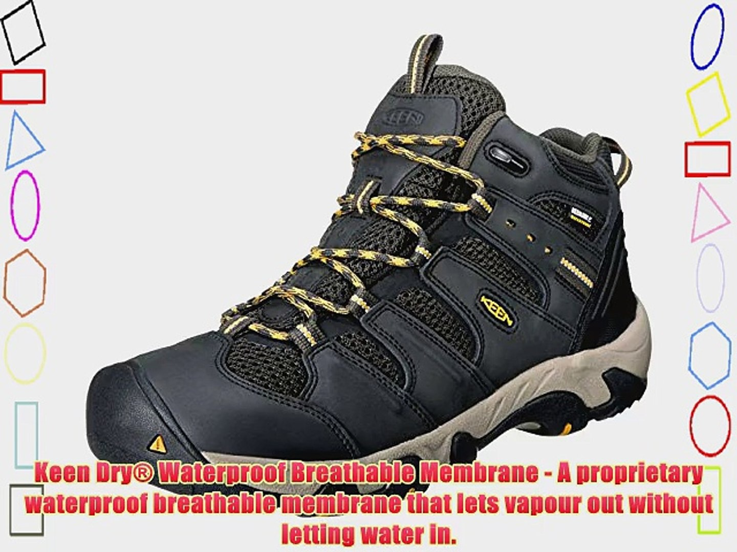 57914c76a37 Keen Koven Mid WP Walking Boots - SS15 - 11