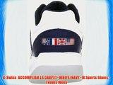 K-Swiss  ACCOMPLISH LS CARPET~WHITE/NAVY~M Sports Shoes - Tennis Mens