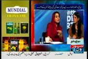 NEWSONE 10PM With Nadia Mirza with MQM Sajid Ahmed (08 July 2015)