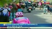 ¡Lo volvió a hacer! Nairo Quintana gana la etapa 19 del Giro (ESPN)