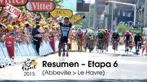 Resumen - Etapa 6 (Abbeville > Le Havre) - Tour de France 2015