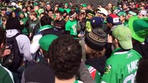 Crazy Chicago St. Patricks Day Fight 2014
