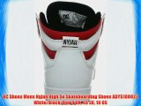 DC Shoes Mens Nyjah High Se Skateboarding Shoes ADYS100022 White/Black/Red 9 UK 43 EU 10 US