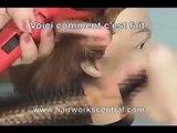 LEÇON DE COIFFURE GRATUIT; Comment avoir des cheveux très droits.