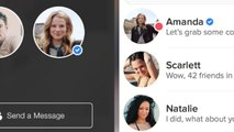 Tinder makes it easier to date celebs with new update, even though they'll swipe left on you
