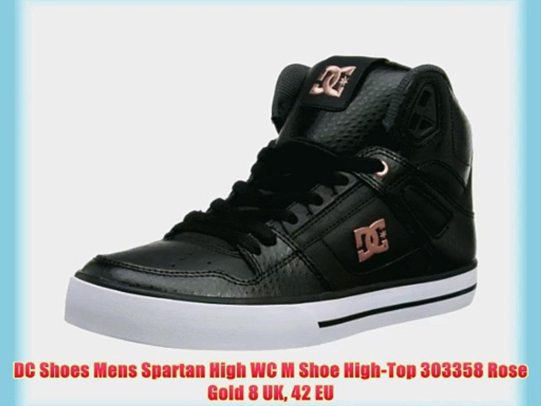 3893050ca9319 DC Shoes Mens Spartan High WC M Shoe High-Top 303358 Rose Gold 8 UK 42 EU