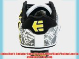Etnies Men's Rockstar Fader V Fusion White/Black/Yellow Lace Up 4107000371 8 UK 9 US