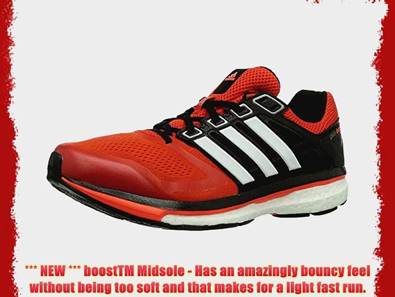 adidas Supernova Glide Boost 6 Men's Running Shoes Dark Orange/CoreWhite/Solar Red 10 UK